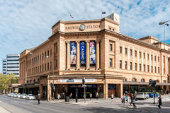 Adelaide Railway Station Fotos de archivo