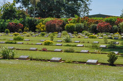 Adelaide River War Cemetry Royalty Free Stock Photography