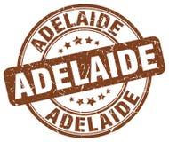 Adelaide stamp. Adelaide round grunge stamp isolated on white background. Adelaide