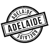 Adelaide rubber stamp Stock Image