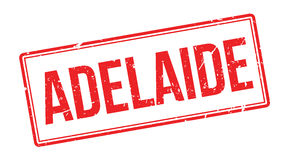 Adelaide rubber stamp Stock Photography