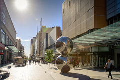 Adelaide Rundle Mall Stock Image