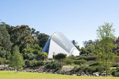 Bicentennial Conservatory, Adelaide Botanic Garden, South Austra Royalty Free Stock Photography