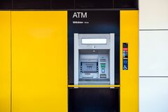 Commonwealth Bank branch ATM on the street