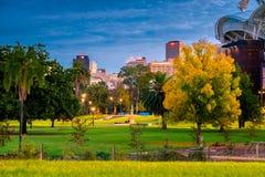 Adelaide stadshorisont Arkivfoton