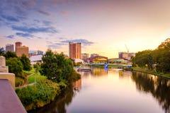 Adelaide-Stadt Australien Stockfotos