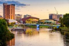 Adelaide-Stadt Australien Lizenzfreies Stockfoto