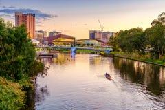 Adelaide-Stadt Australien Stockfotografie