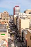 Adelaide-Stadt und Rundle-Mall Stockfotos