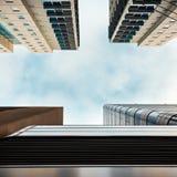 Adelaide-Stadtbürogebäude, die oben schauen Lizenzfreie Stockfotografie
