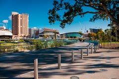 Adelaide-Stadtskyline Stockfoto