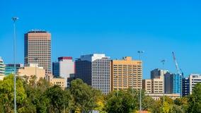 Adelaide-Stadtskyline Lizenzfreies Stockbild