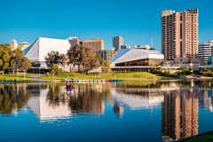 Adelaide-Stadtzentrum Lizenzfreie Stockfotos