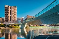 Adelaide-Stadtzentrum Lizenzfreie Stockfotografie
