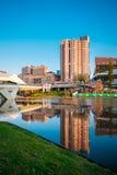 Adelaide-Stadtzentrum Stockbilder
