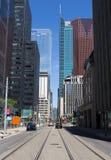 Adelaide Street West Toronto Lizenzfreie Stockbilder