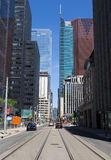 Adelaide Street West Toronto Royalty Free Stock Images