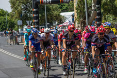 Adelaide Tour Down Under 2016 Stockbild