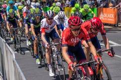 Adelaide Tour Down Under 2016 Fotografie Stock