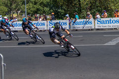 Adelaide Tour Down Under 2016 Lizenzfreies Stockfoto