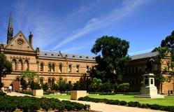 Adelaide - universidad de Adelaide Foto de archivo libre de regalías