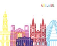 Adelaide V2 linii horyzontu wystrzał Obraz Stock