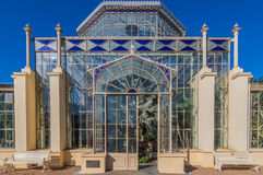 Adelaide View 7. Adelaides Botanic Gardens and the Palm House Stock Images