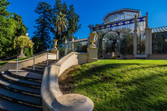 Adelaide View 6. Adelaides Botanic Gardens and the Palm House Royalty Free Stock Image