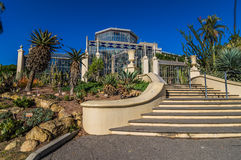 Adelaide View 9. Adelaides Botanic Gardens and the Palm House Stock Photo