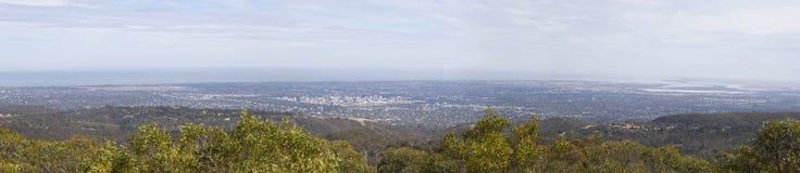 Adelaide-Vogelperspektive Stockfotografie