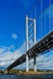 Adelante puente del camino Fotografía de archivo libre de regalías