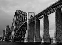 Adelante puente del carril Imagen de archivo libre de regalías