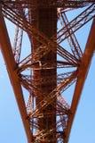 Adelante puente del carril de Queensferry del sur, Escocia Fotos de archivo libres de regalías