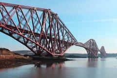 Adelante puente Edimburgo del carril Imagenes de archivo