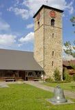 adelboden kyrka Arkivbilder