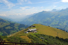 Adelboden, Zwitserland Royalty-vrije Stock Afbeelding