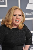 Adele. At the 54th Annual Grammy Awards at the Staples Centre, Los Angeles. February 12, 2012  Los Angeles, CA Picture: Paul Smith / Featureflash Royalty Free Stock Photography