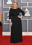 Adele. At the 54th Annual Grammy Awards at the Staples Centre, Los Angeles. February 12, 2012  Los Angeles, CA Picture: Paul Smith / Featureflash Stock Photography