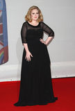 Adele. Adele arriving for the 2012 Brit Awards, at the O2 Arena, London. 21/02/2012 Picture by: Henry Harris / Featureflash Royalty Free Stock Images