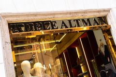 Adele Altman boutique royaltyfria foton
