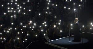 Adele Concert Tour i Los Angeles, Kalifornien, USA arkivbilder