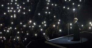 Adele Concert Tour in Los Angeles, Kalifornien, USA Stockbilder