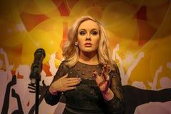 Adele, Mevrouw Tussauds Stock Afbeelding