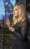 Adele-Wachsfigur Stockbilder