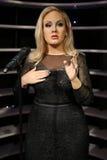 Adele-Wachsstatue Lizenzfreie Stockfotografie