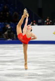 Adelina SOTNIKOVA (RUS) Lizenzfreie Stockbilder