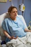 Adem ademhaling van patiënt stock afbeeldingen