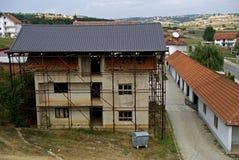Adem Jasharis Haus, Prekaz, Kosovo Lizenzfreies Stockfoto