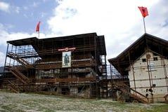 Adem Jasharis Haus, Prekaz, Kosovo Lizenzfreie Stockbilder