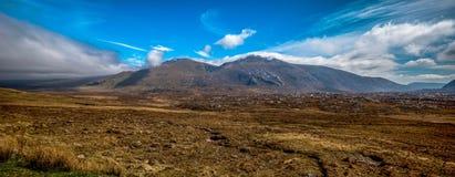 Adembenemend landelijk berglandschap Scaotland stock foto